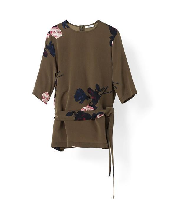 Ganni Donaldson Silk Blouse