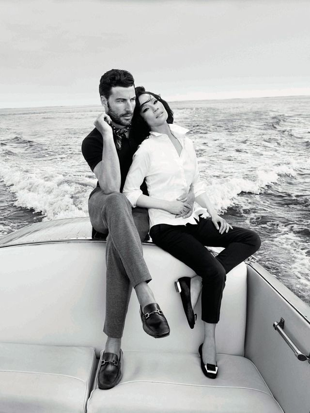 Chic comeback: Italian brand Bruno Maglihas enlisted the help of Lucy Liu to relaunch its women's line.Not only does Liu star in the new fall 2016 campaign, but the actress also...