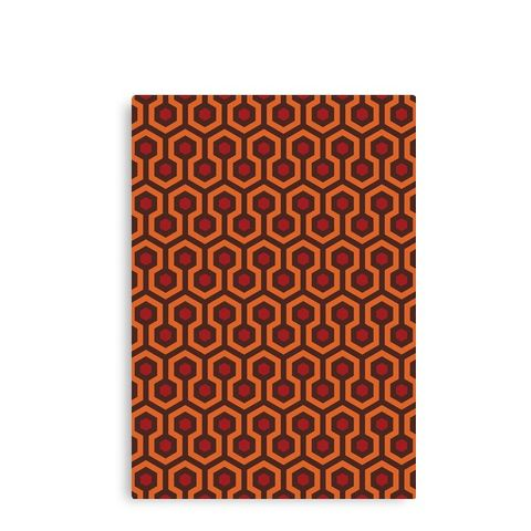 The Shining Carpet Texture Canvas Print