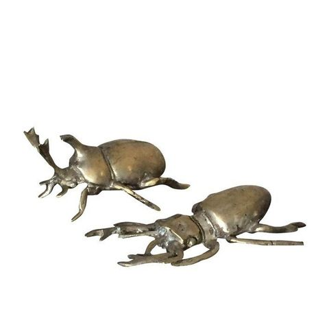 Cast Brass Decorative Bugs