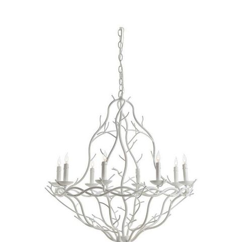White Durango Chandelier