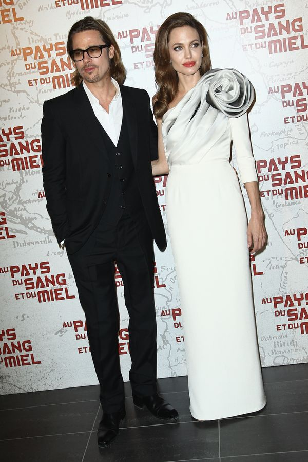 In The Land Of Blood And Honey Paris premiere on February 16, 2012