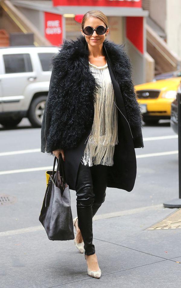 Nicole Richie is the reason why we can't get over our oversized sunglasses.