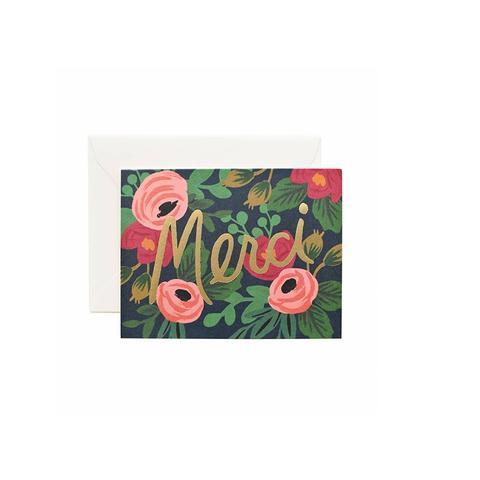 Boxed Card Set of 8 - Rosa Merci