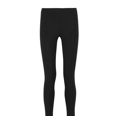Stretch-Gabardine Leggings