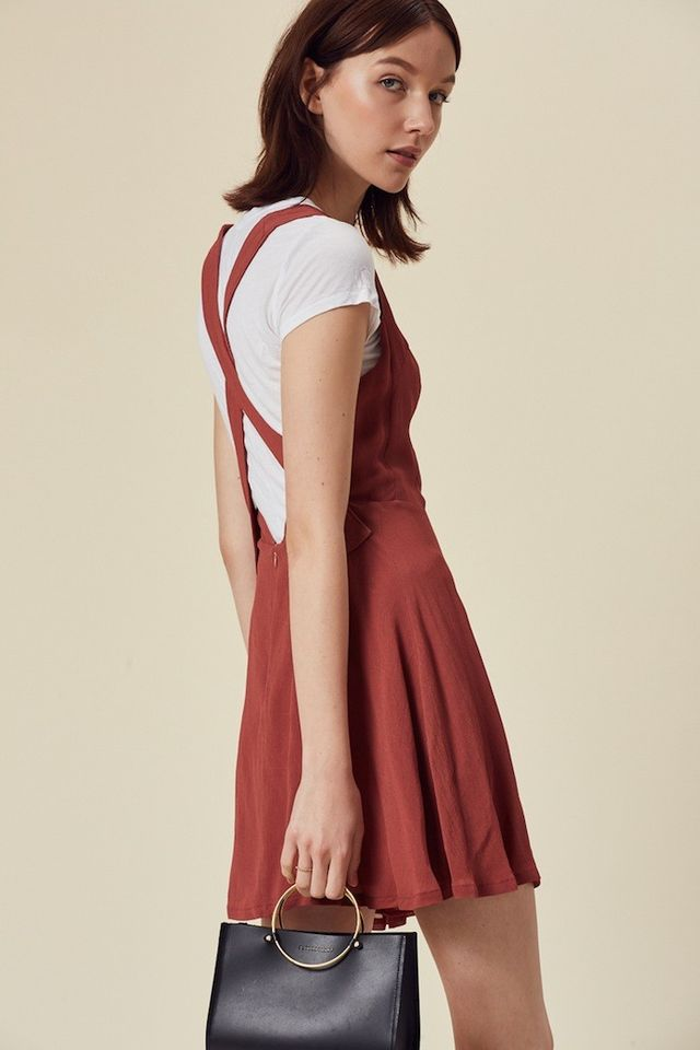 Stil Princeton Dress in Rust
