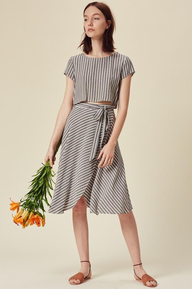Stil San Pedro Skirt in Stripe