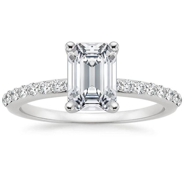 Brilliant Earth .75 ct Petite Shared Prong Diamond Ring