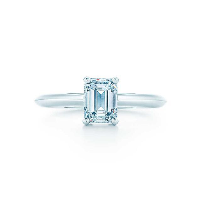 Tiffany & Co. 1 ct. Emerald Cut Diamond Ring