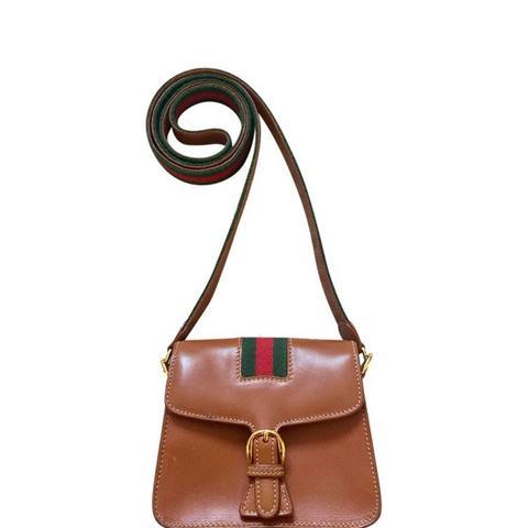 Vintage Mini Leather Bag