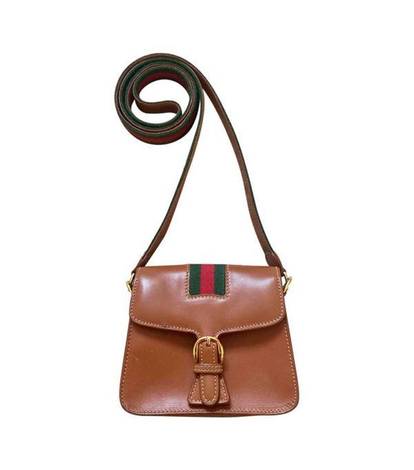 Gucci Vintage Mini Leather Bag