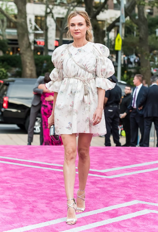 On Diane Kruger:Giambattista Valli Couture 16 dress.
