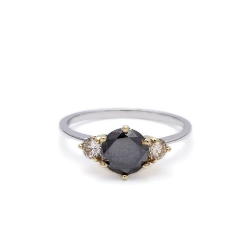 Three Stone Hazeline Ring