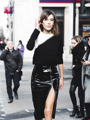 3 New Ways to Wear Your Leather Skirt This Fall