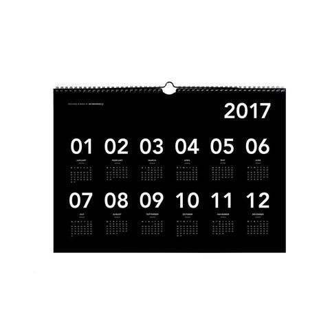 2017 A3 Wall Calendar