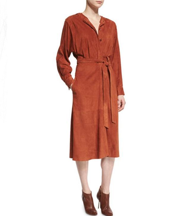 Tibi Midi Wrap Dress