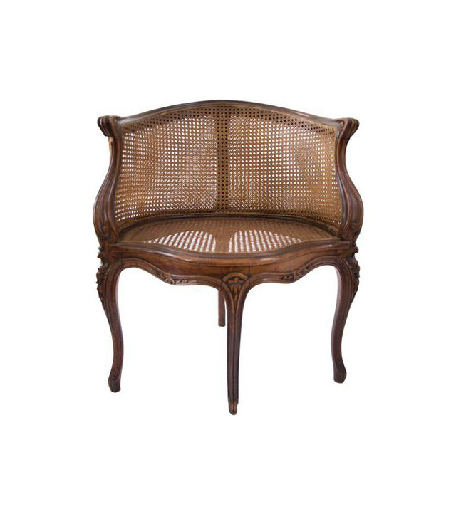 Chairish Antique Louis XV Style Caned French Corner Chair
