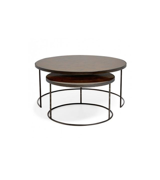 ABC Carpet & Home Reflect Nesting Tables Bronze