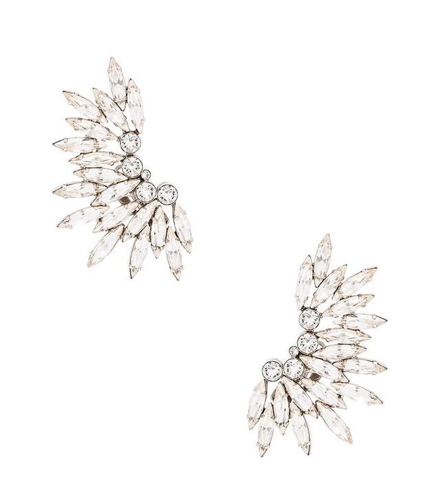 Saint Laurent Cocktail Clip Earrings