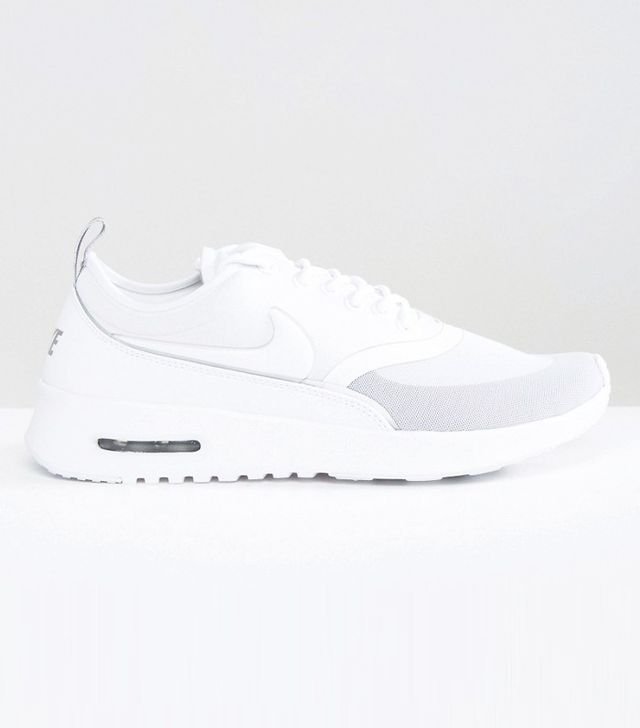 Nike Air Max Thea Ultra Trainers In Cream And Grey