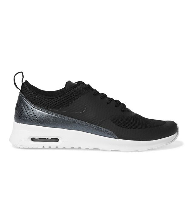 Nike Air Max Thea And Faux Leather Sneakers