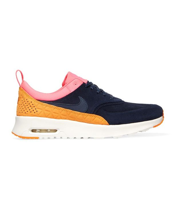 Nike Air Max Thea Suede And Leather Sneakers