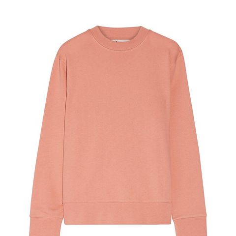 Carly Loopback Cotton-Jersey Sweatshirt