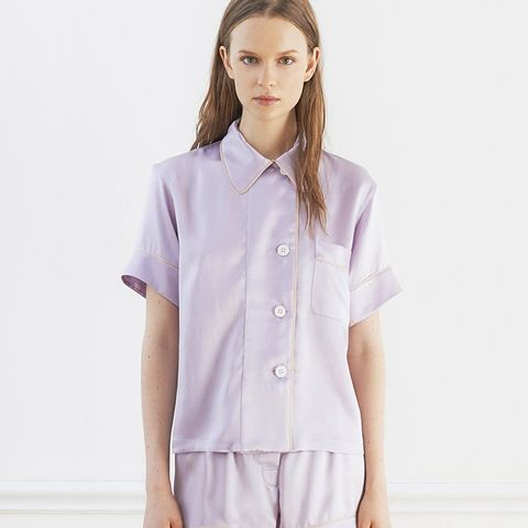 Shelby Pajama Top in Lavender