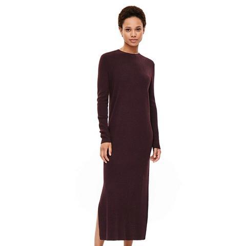 Ribbed Merino Dress
