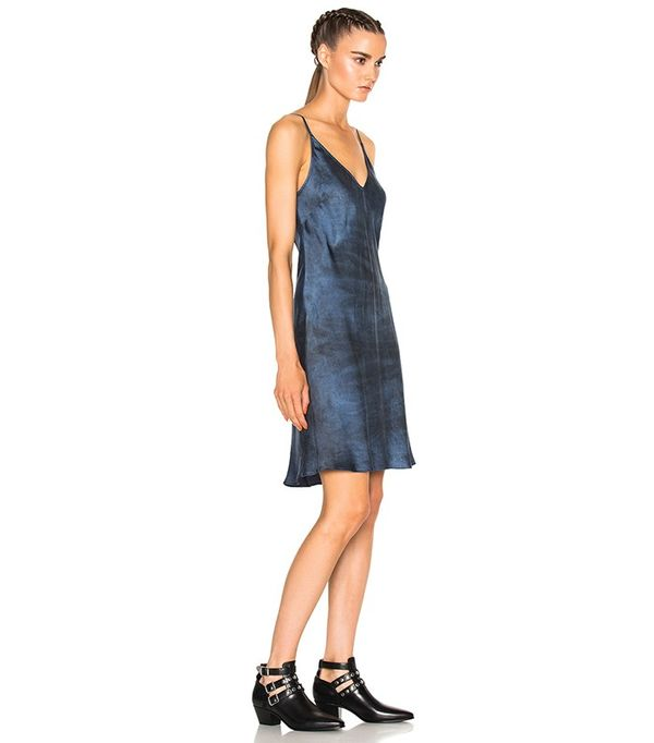 Raquel Allegra Charmeuse Slip Dress