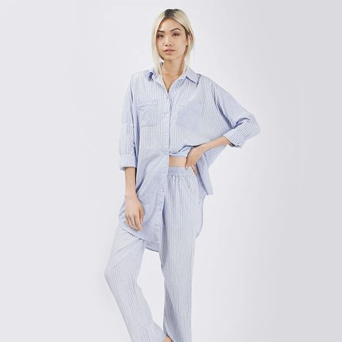 Striped Pyjama Nightshirt