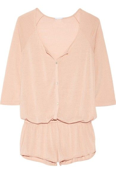 Eberjay Afternoon Delight Pointelle-Knit Playsuit