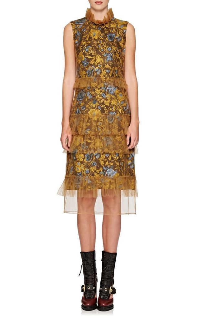 Burberry x Barneys New York Tiered Gown