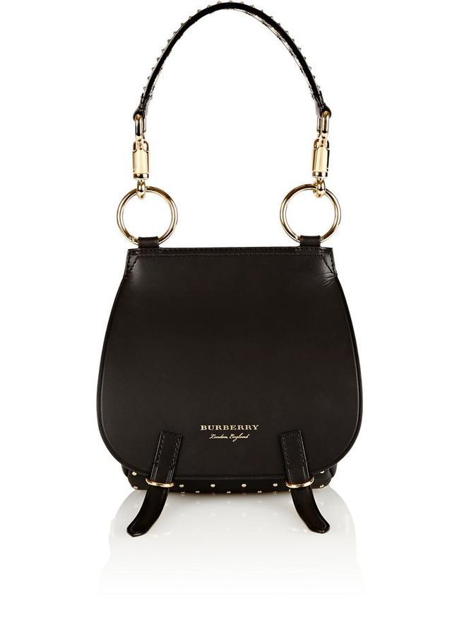 Burberry x Barneys New York Double-Flap Saddle Bag