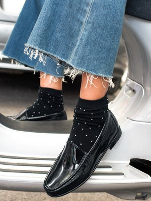 How to Wear the Exposed-Sock Trend This Fall
