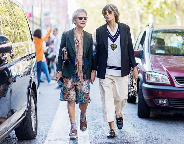 Milan Fashion Week street style S/S 17