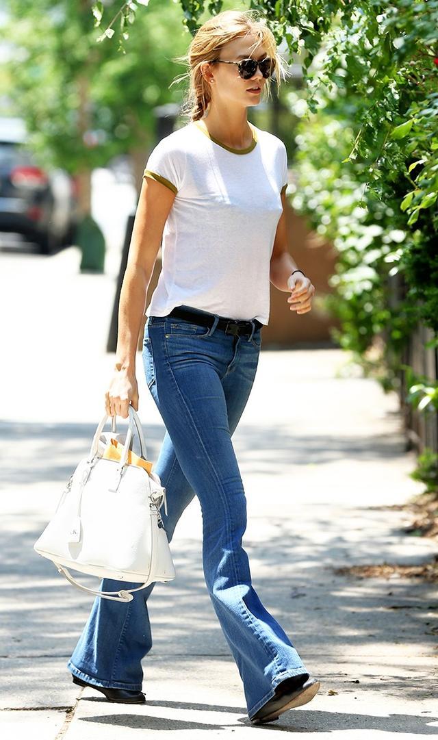 Karlie Kloss Jane Birkin outfit