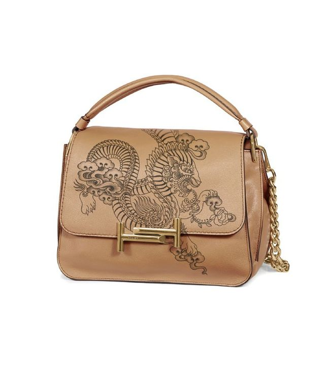 Tod's Double T Tattoo-Inspired Messenger Bag