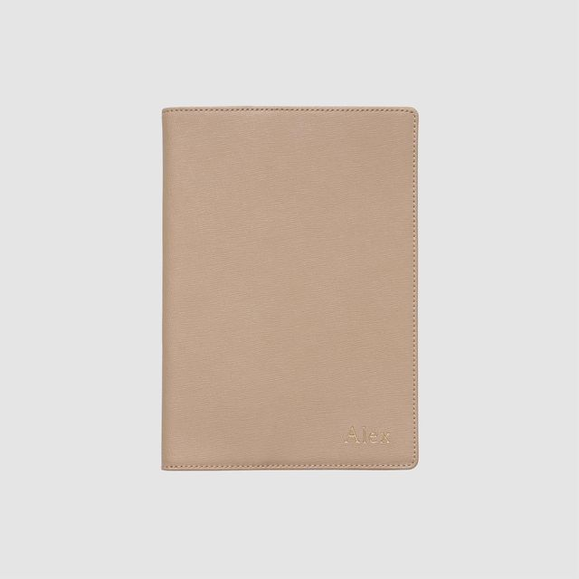 The Daily Edited Taupe A5 Notebook Holder