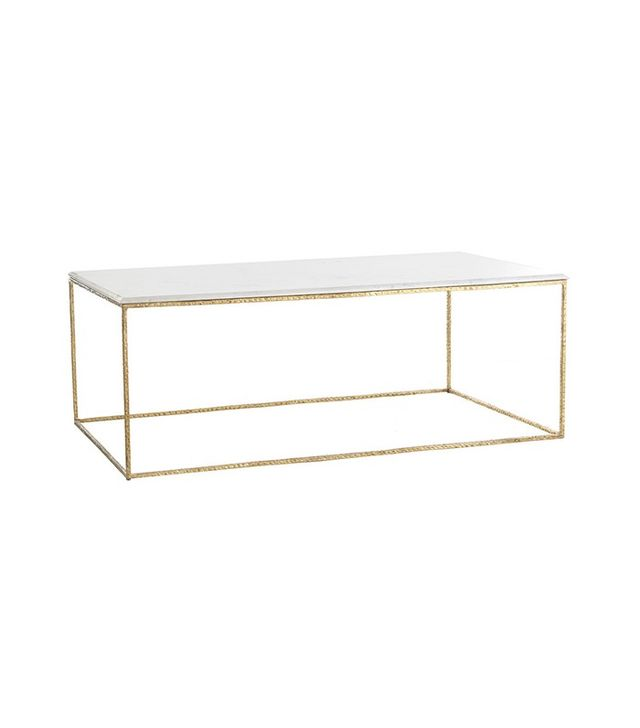 Wisteria Gold Leaf Coffee Table