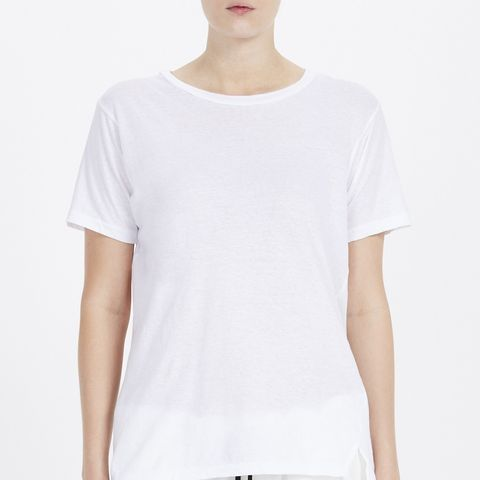 Slim Vintage Neck T-Shirt