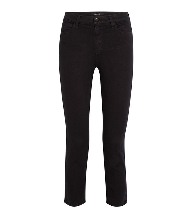 Ruby Cropped High-rise Straight-leg Jeans