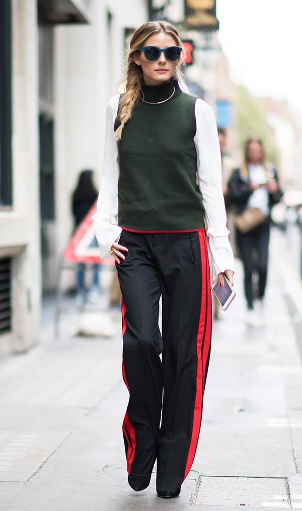 Olivia Palermo Zara outfit fashion week