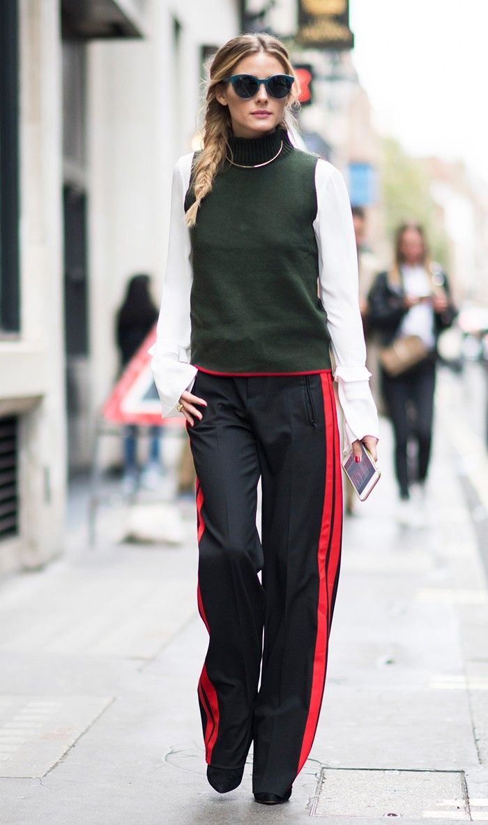 Olivia Palermo Zara outfit fashion week