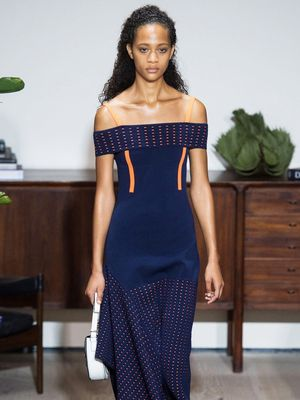 Guess Which Celeb Has Enough Pull to Nab a Dress Straight off the Runway