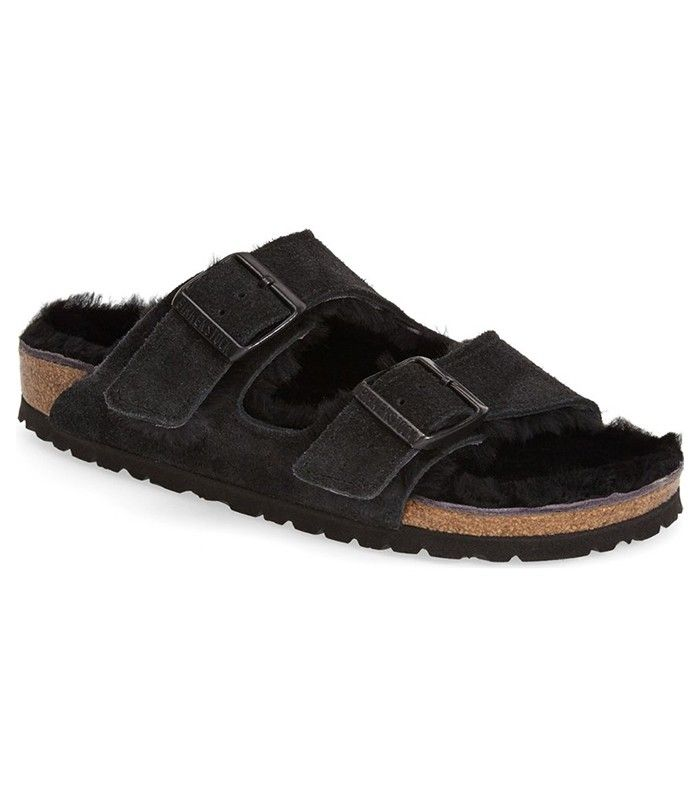 Birkenstock Arizona Genuine Shearling Lined Sandal