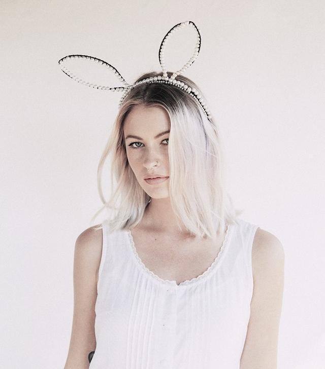 Cult Gaia Pearl Bunny Ears