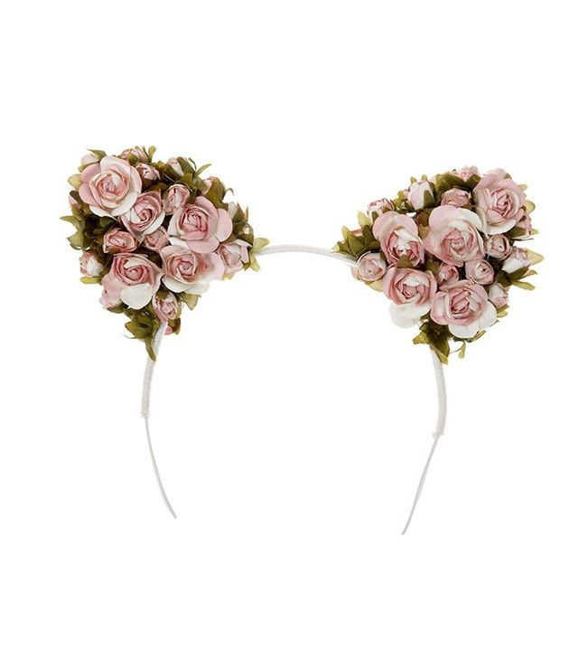 Cult Gaia Blush Fiona Floral headband