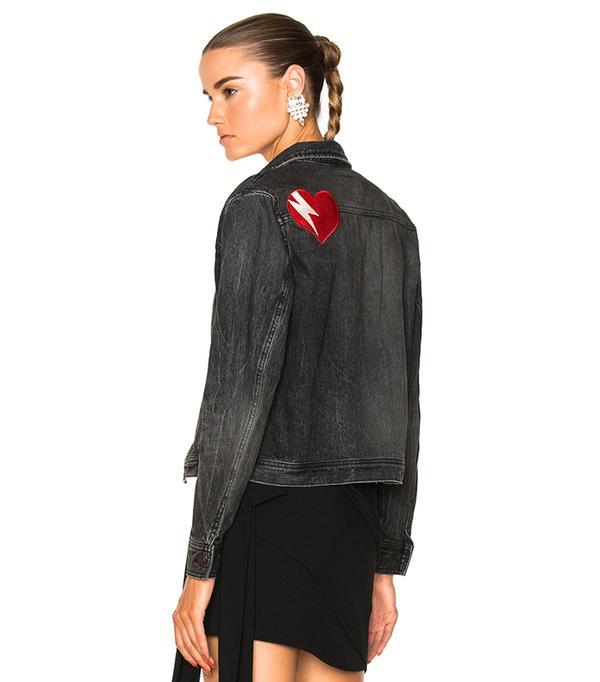 embroidered Saint Laurent jacket