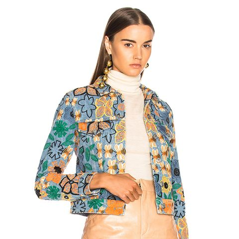 Chea Embroidered Jacket
